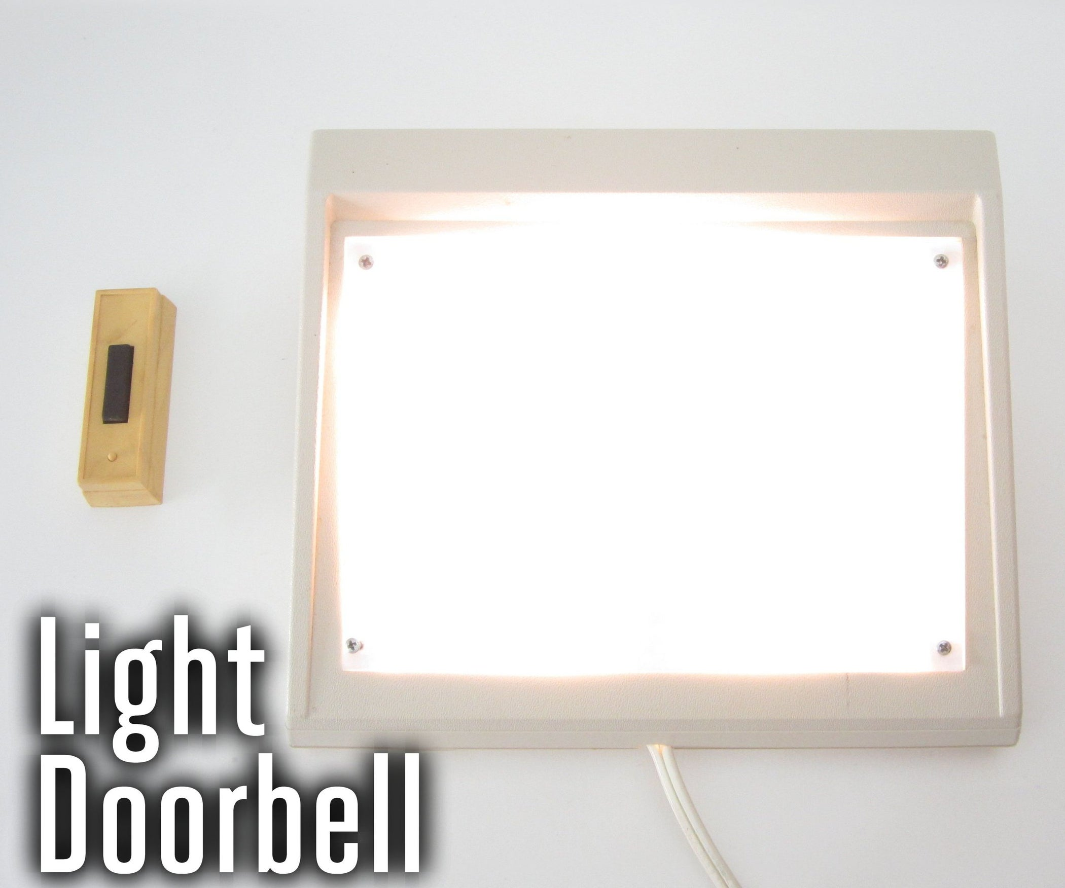 Doorbell That Turns On A Light 18 Steps With Pictures Activated Relay 555 Ic