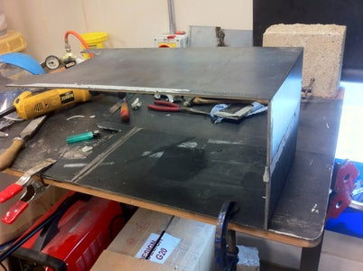Step 3: Folding and Welding