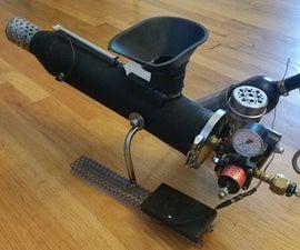 Dogzooka Robot Dog Ball launcher