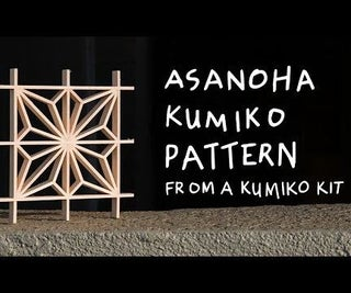 DIY Kumiko Woodworking: Asanoha Pattern