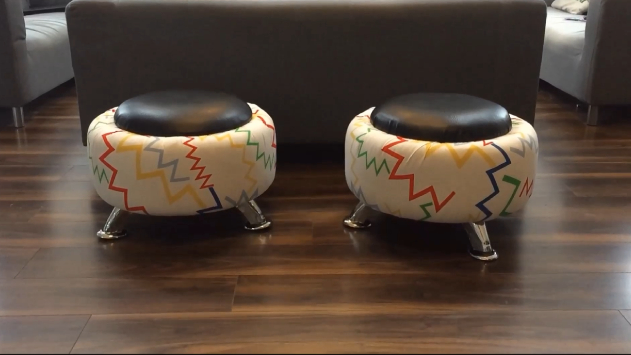 Picture of The Finished Stools.