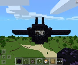 Minecraft Airplane