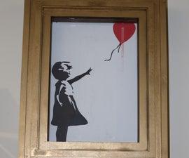 """Build Your Own """"""""Banksy's Self-Destruct Artwork Frame"""""""