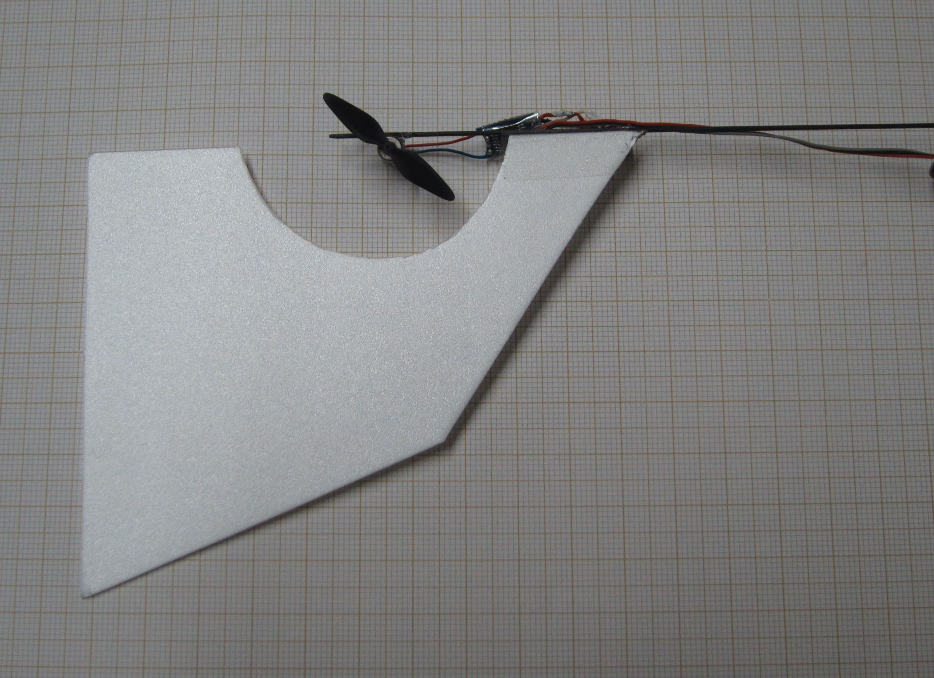 Picture of Flying and Fitting a Tail Fin