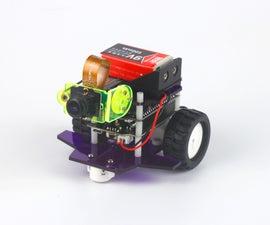 Live Video Steaming DIY Robot