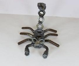 scrap metal scorpion