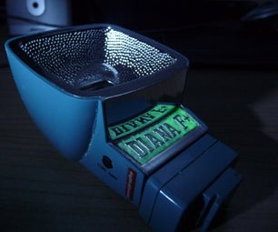 Glow-in-the-dark Lomography Flash