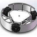 DIY Omni wheels robot