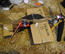 How to Build a Rc 4D Cardboard Plane