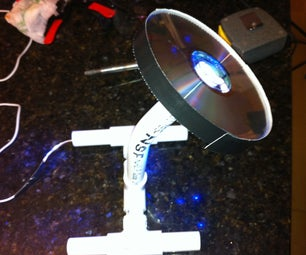 Robert and Tylers USB CD Lamp