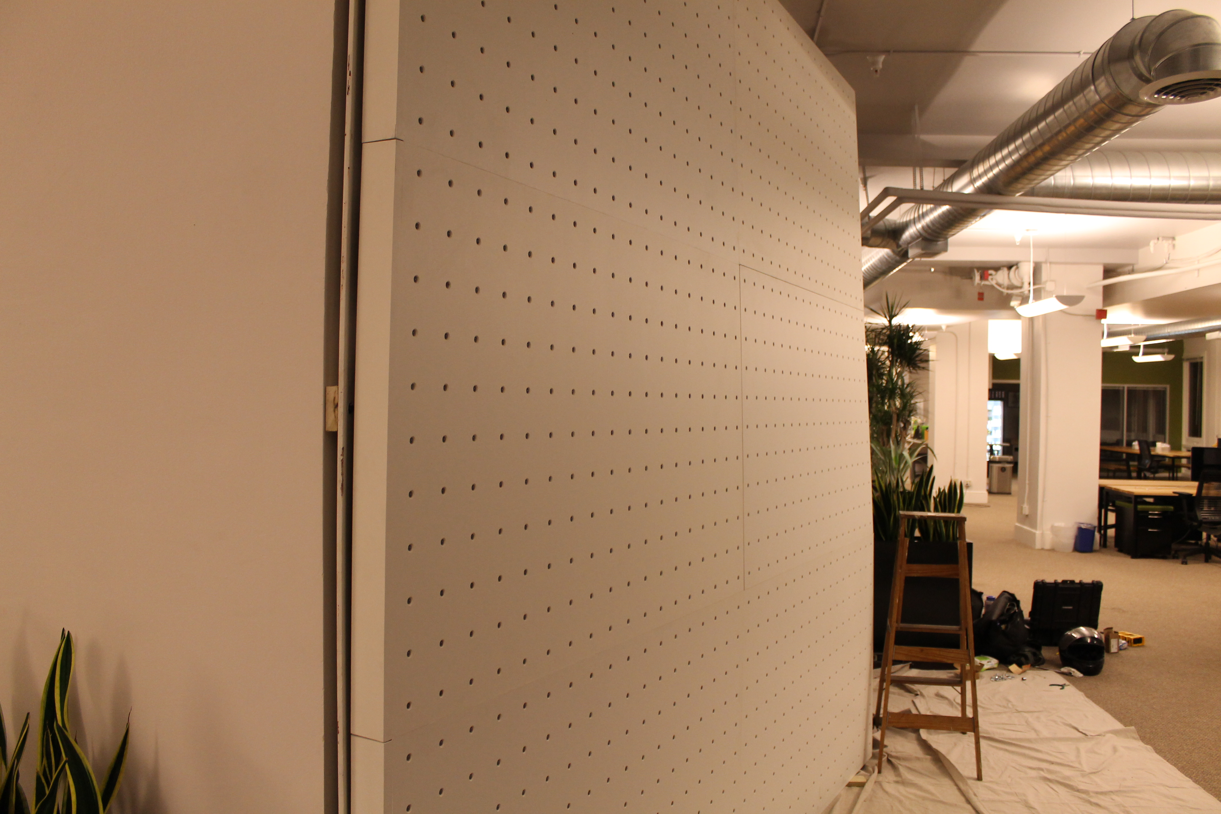 Picture of Assemble and Complete Wall Configuration