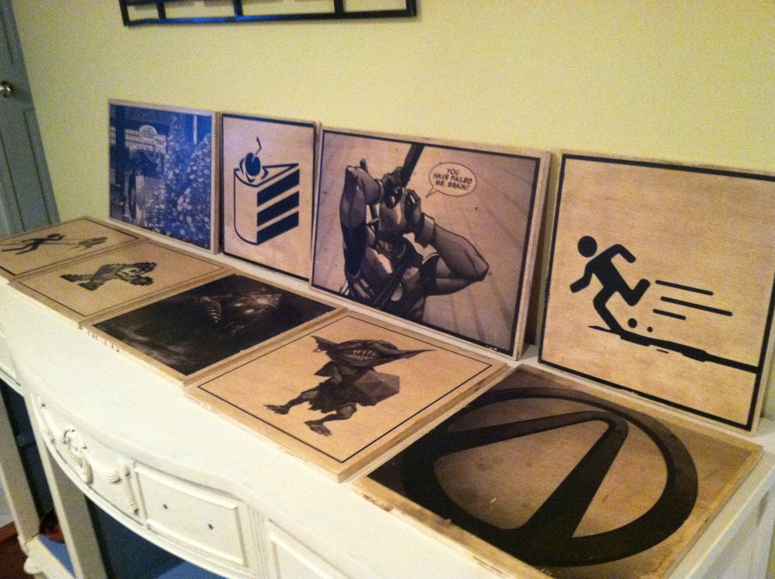 Picture of Printed Wooden Panels for Your Home (or How to Decorate Your House Like a Nerd)