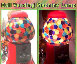 Ball Vending Machine Lamp