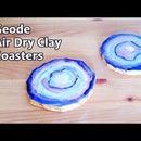 Easy Geode Coasters No Resin