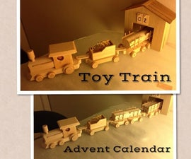 Toy Train Advent Calendar