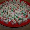 White Chocolate Christmas Fudge