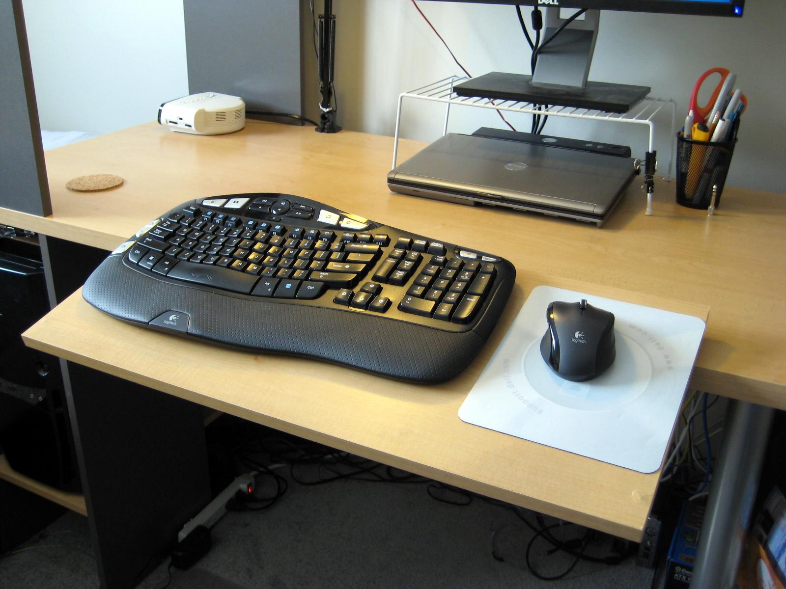 Adjustable Keyboard Platform Desk Extension