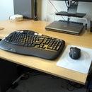 Adjustable Keyboard Platform, Desk Extension