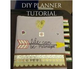 DIY Weekly/Monthly Planner
