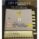 DIY Weekly/Monthly Planner