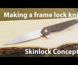 Making a Frame Lock Folding Knife