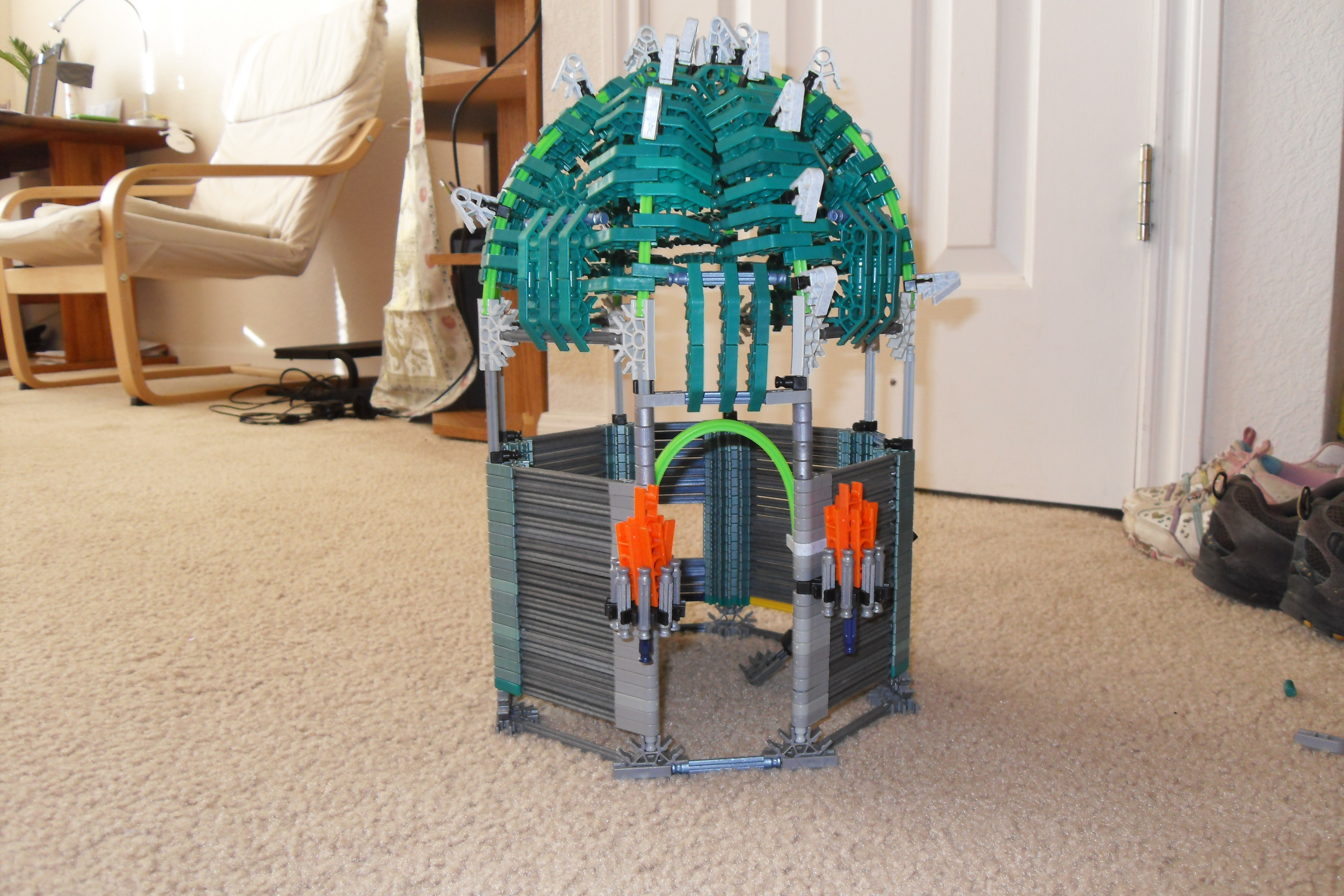 Picture of Knex Bowser Tower