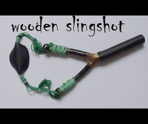 How to Make a Wooden Slingshot With Rubber Band