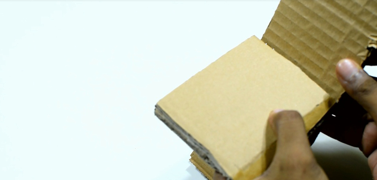 Picture of Now Take a Cardboard Piece