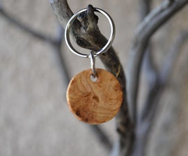 Handcrafted Burl Keychain!! (EASY)