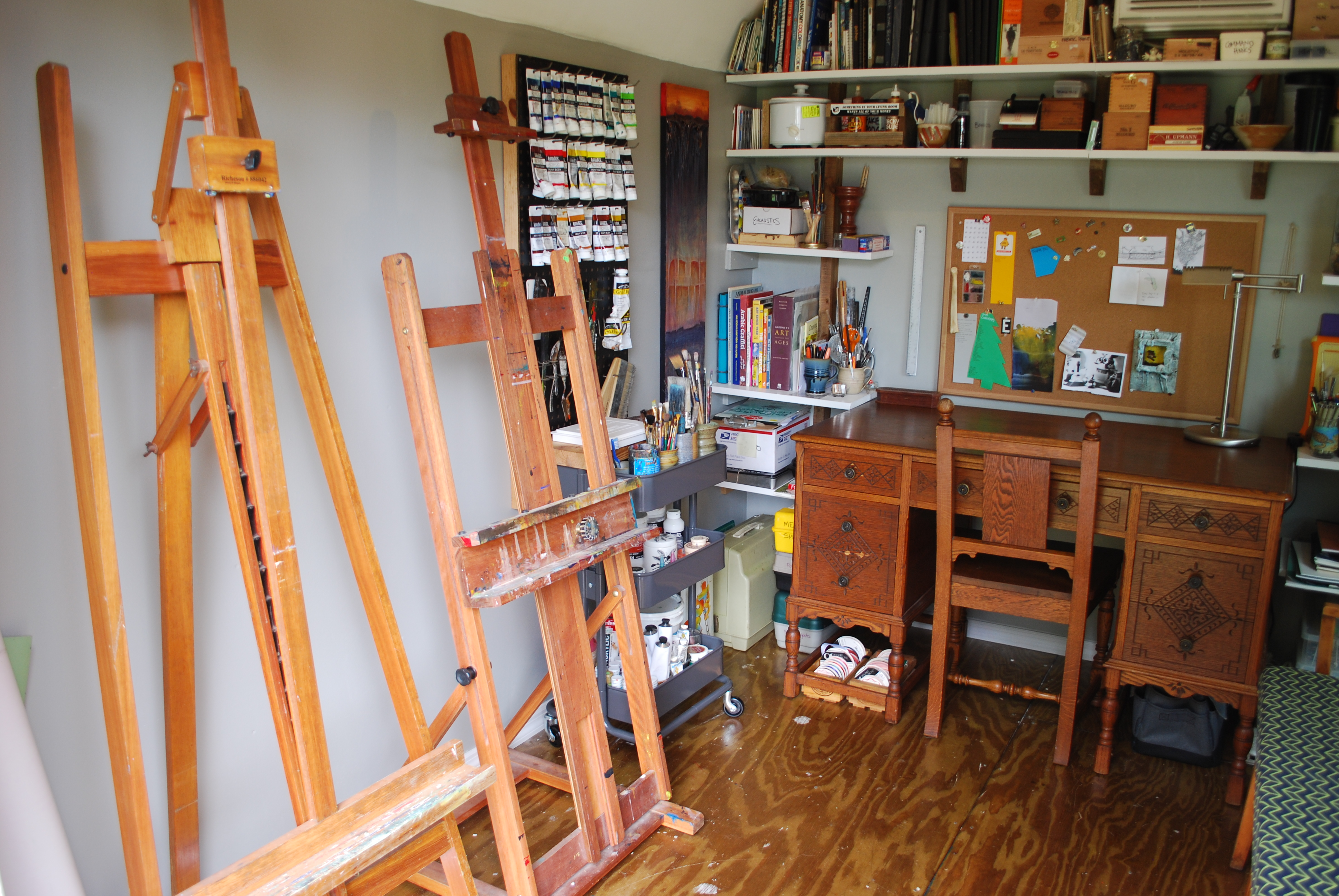 Picture of Wood Shed Into Epic Art Studio