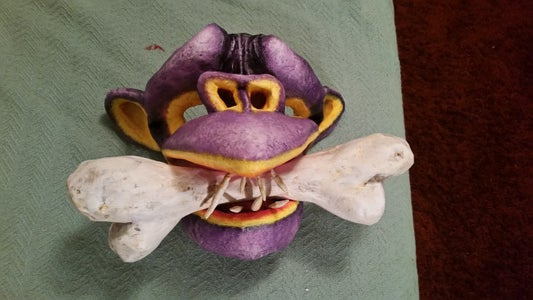Bone Daddy (Paper Mache Mask)