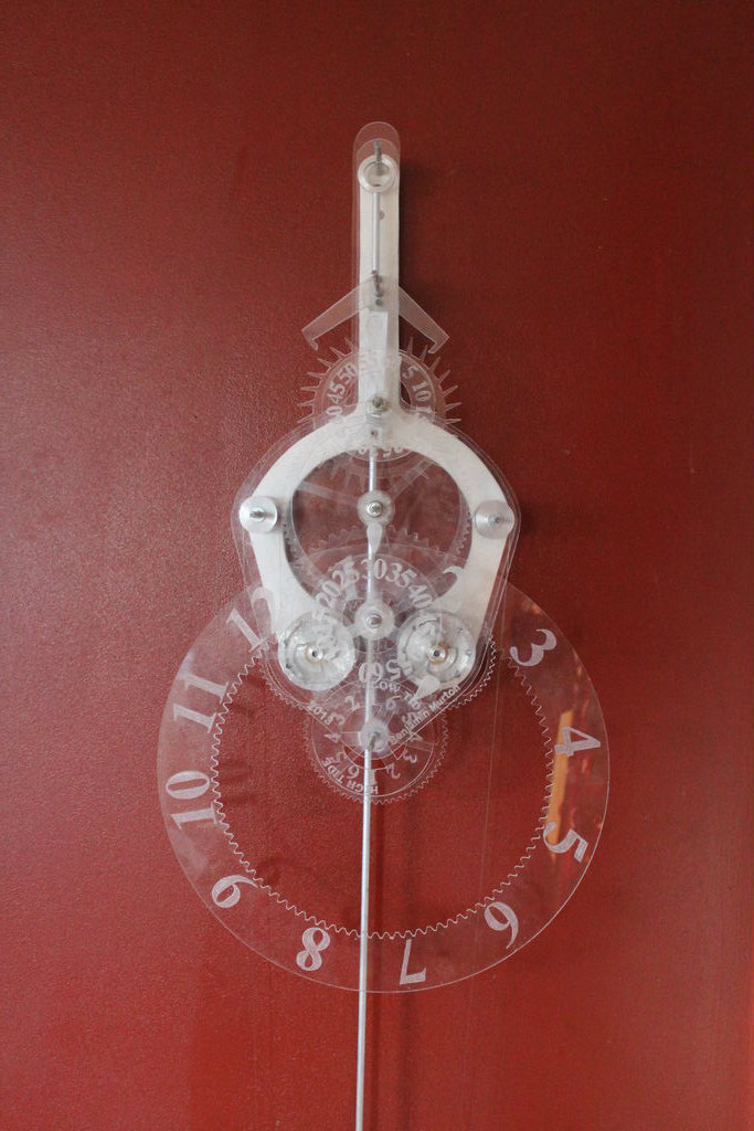 Picture of Acrylic Skeleton Clock