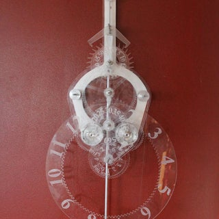 3D Printed Hanging Internal Gear Clock
