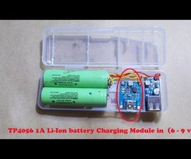DIY Power Bank for Smatphone with USB DC 0.9V to 5V Voltage Step-up Boost Module
