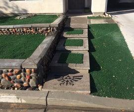 Concrete Zelda Steps