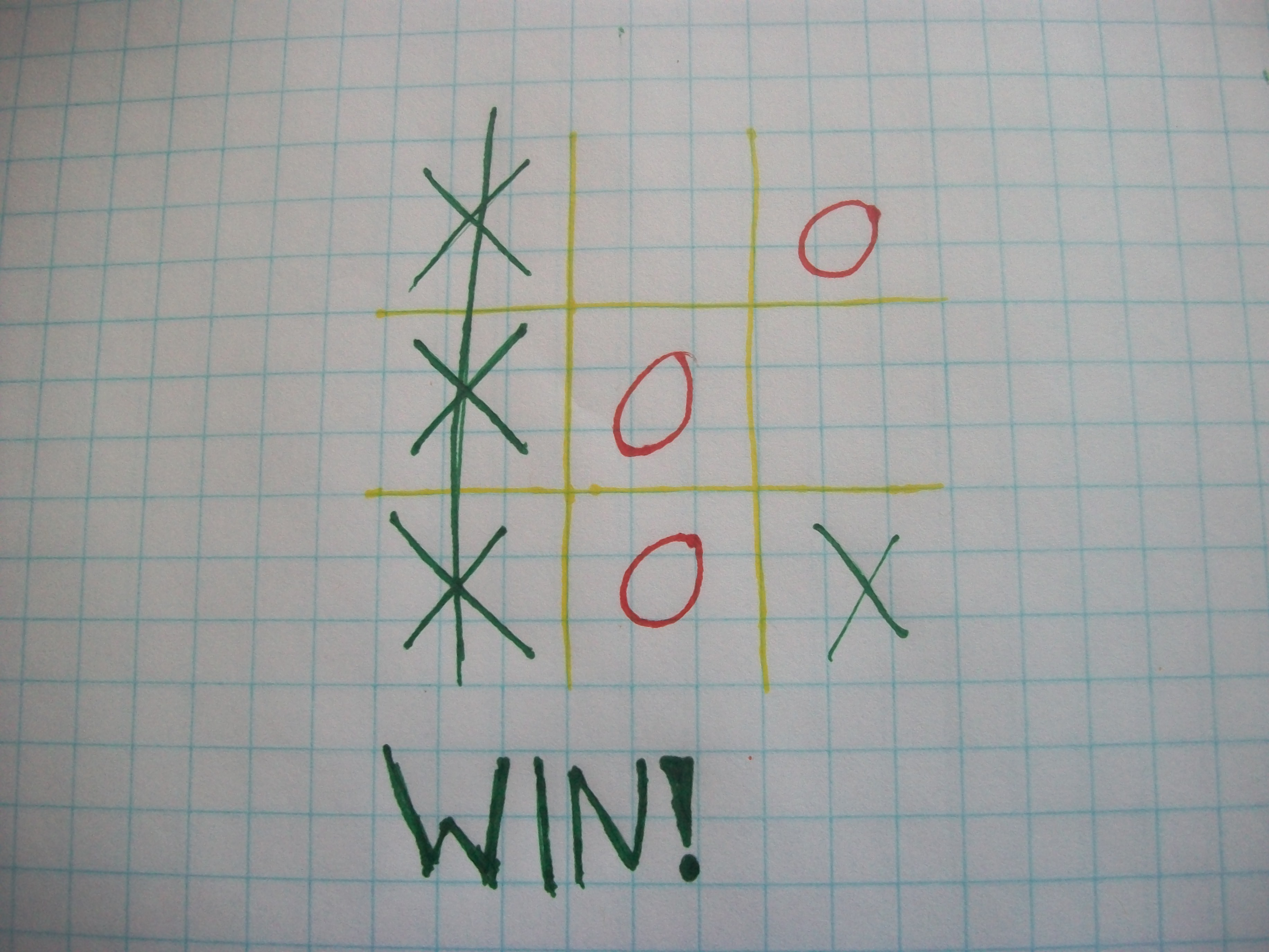 Picture of Winning Tic-tac-toe Strategies