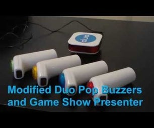 Low Cost Wireless DIY Game Show System for Holiday Parties