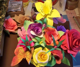 How To Make Paper Roses