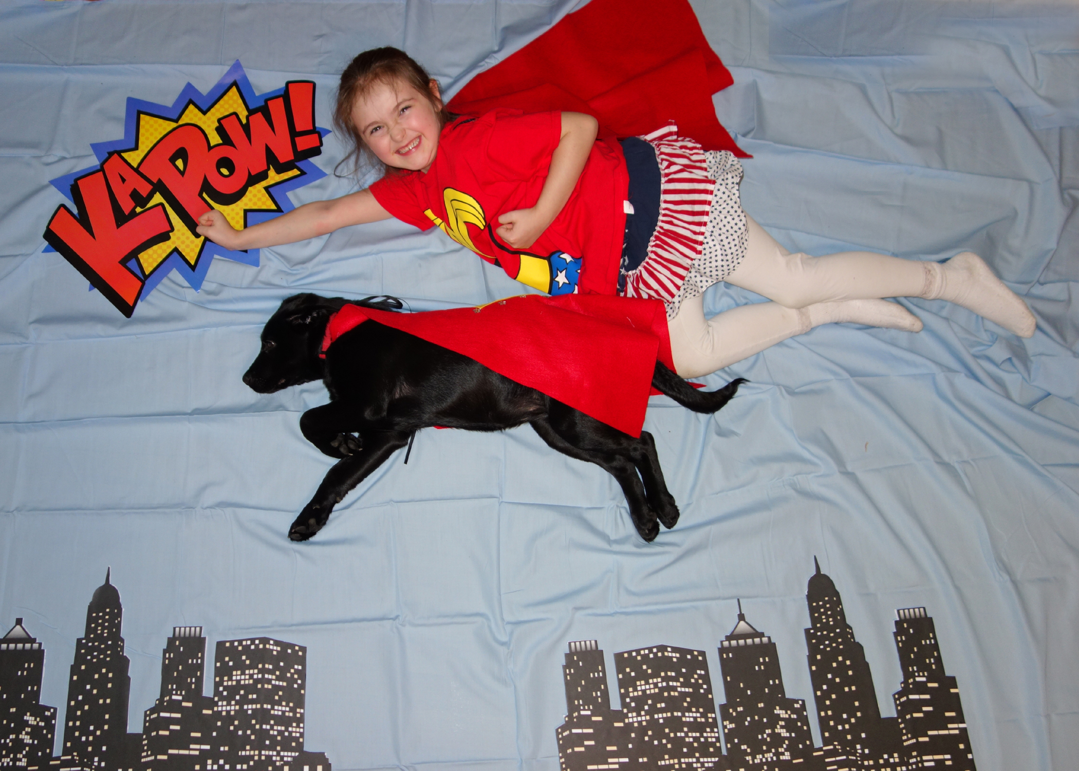 Picture of Easy Superhero Photo Booth