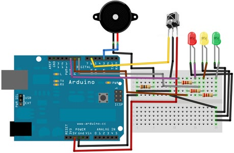 Arduino the Hunted Game