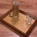 Deathly Drinks Tray (Designs Included)