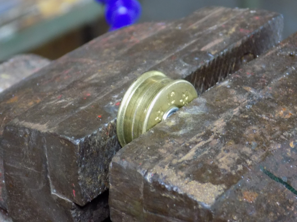 Picture of Soldering the Hinge