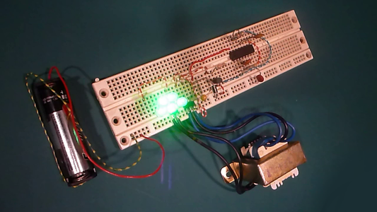 10 Year LED Flasher (V.2) at Work