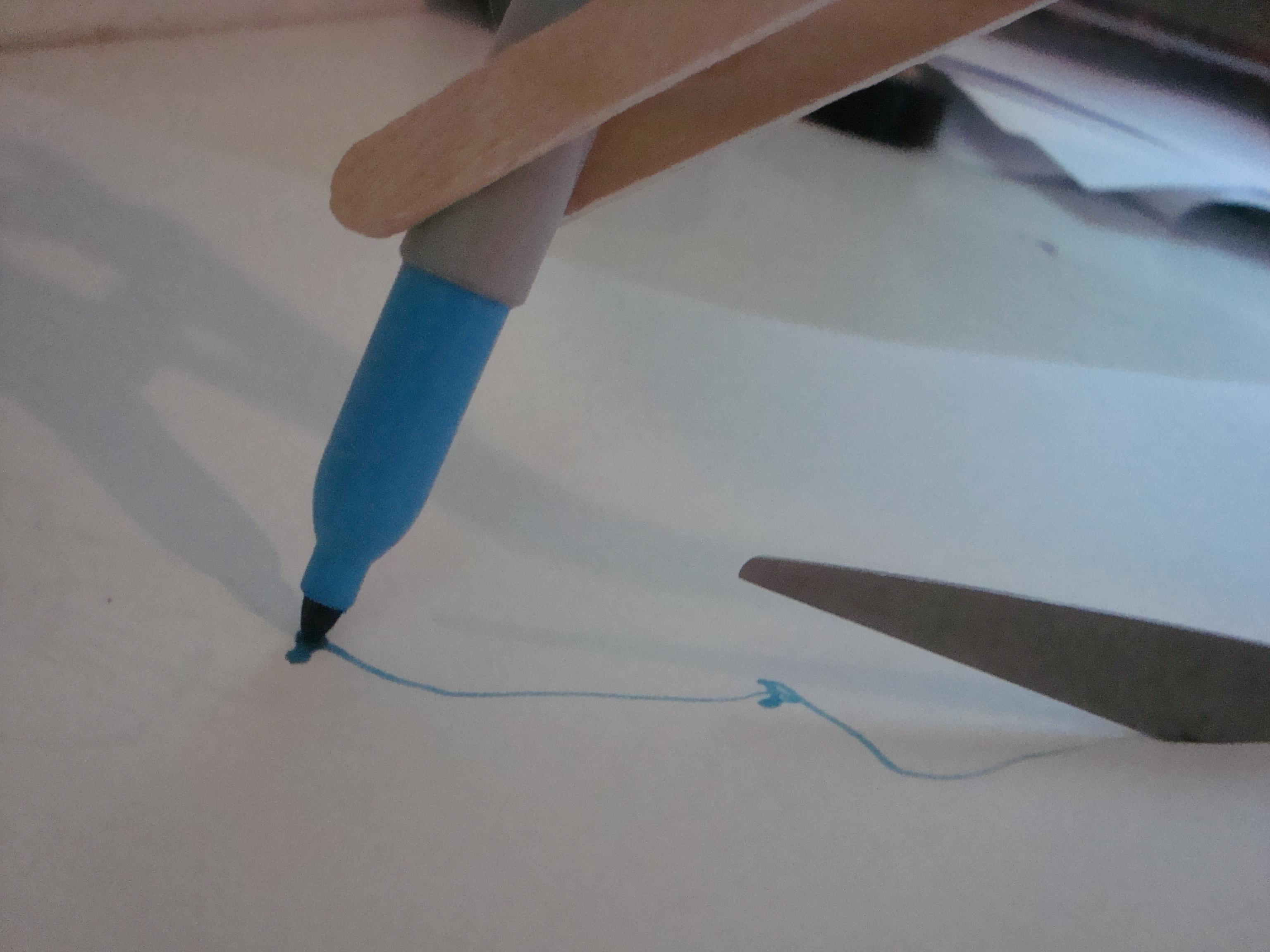 Picture of Scissor Pen... (chindogu Challenge)