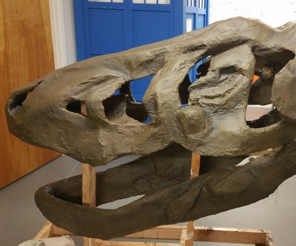 Making a T-Rex Skull From Scratch