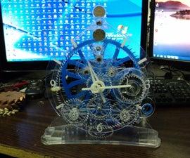 PlexiGlass Clock