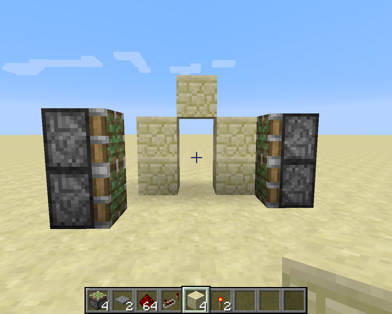 Picture of Door Frame and Pistons