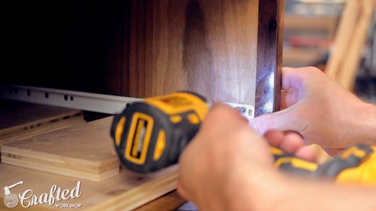 Install the Drawers & Drawer Fronts