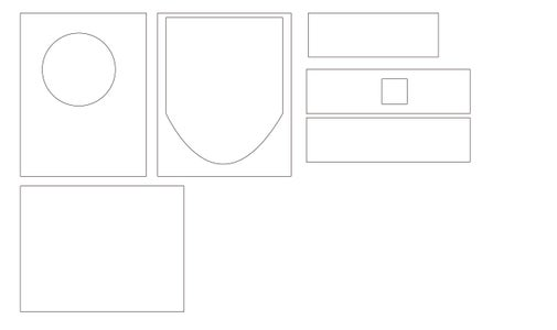 Step 3 : Draw the Laser Cut File