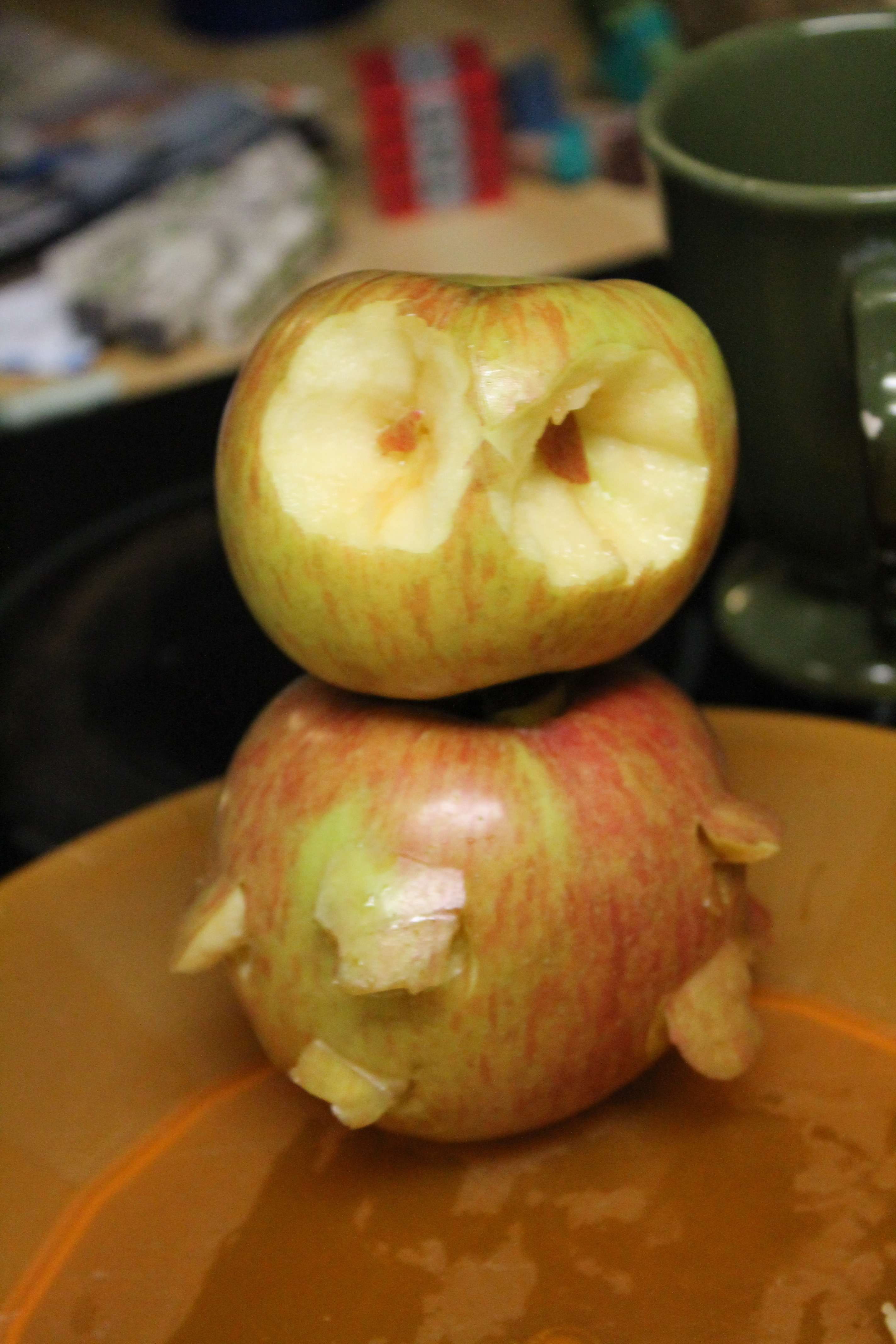 Picture of How to Make a Apple Owl